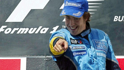 Fernando Alonso - 2003 Hungarian GP