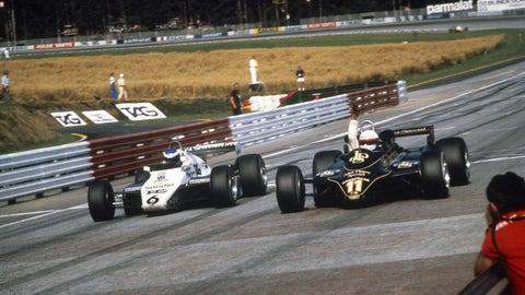 1982 Austrian GP: Elio de Angelis wins by 0.050 seconds