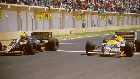 1986 Spanish GP: Ayrton Senna wins by 0.014 seconds
