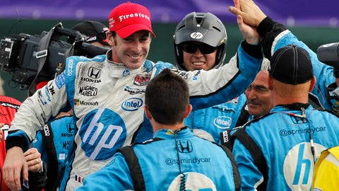 Simon Pagenaud - 2013 Chevrolet Detroit Belle Isle GP - Race 2