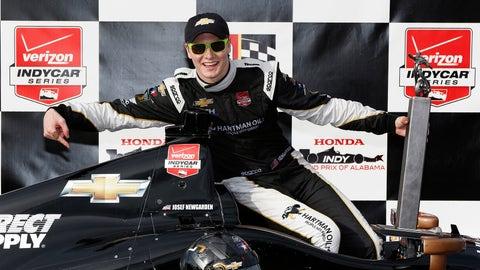 Josef Newgarden - 2015 Honda Indy Grand Prix of Alabama