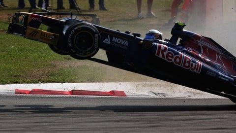 Jean-Eric Vergne's 2012 Toro Rosso