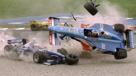 Alexander Wurz' 1998 Benetton