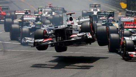 Kamui Kobayashi's 2012 Sauber