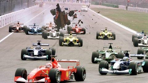 Luciano Burti's 2001 Prost