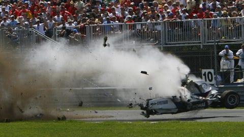 Robert Kubica's 2007 BMW Sauber
