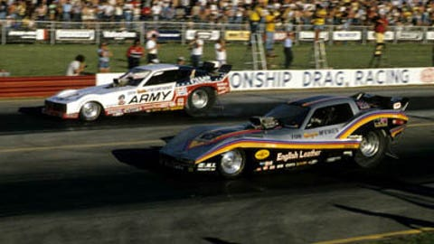1. 1978 Funny Car Final - Mongoose bites Snake