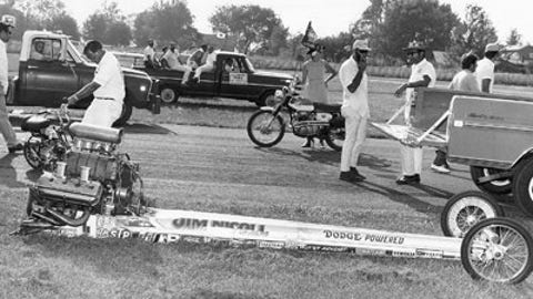 10. 1970 Top Fuel Final - The explosion