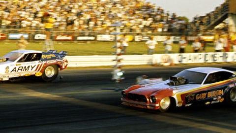 6. 1976 Funny Car Final - Burgin ends Snake's historic streak