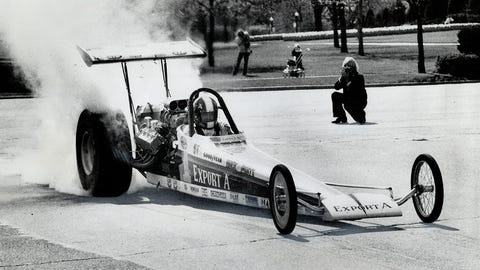 7. 1972 Top Fuel Final - A rookie to remember