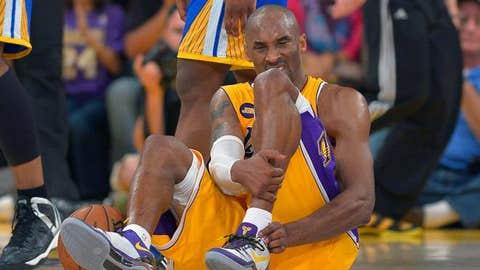 Kobe tears his Achilles