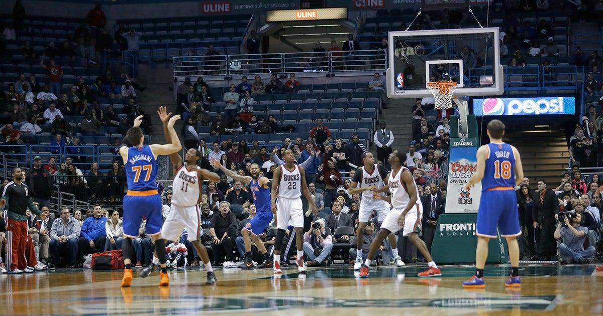 b23323f50466fe Big Buzz: Knicks freak after Bargnani shot; Emily Ratajkowski is Fox-y |  FOX Sports