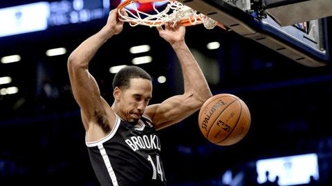 Shaun Livingston, PG, Brooklyn Nets