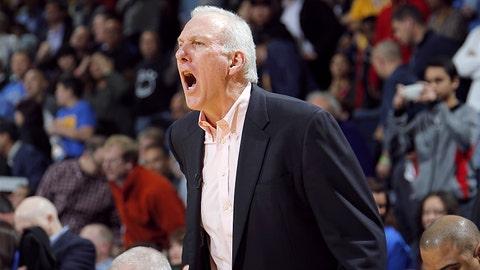 San Antonio Spurs: Gregg Popovich