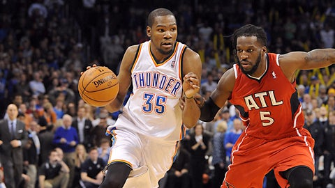 No. 2 Atlanta Hawks vs. No. 15 Oklahoma City Thunder