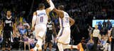 Kevin Durant's scoring binge continues in Thunder blowout of Kings