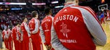 Report: Lawsuit alleges Rockets players harassed gay catering worker