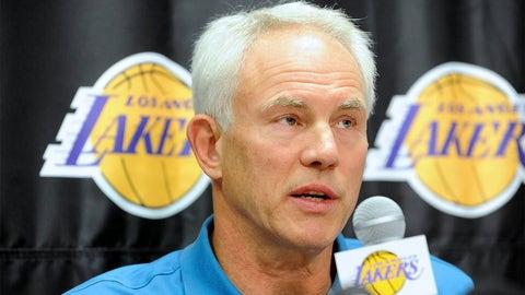 Mitch Kupchak, GM, Los Angeles Lakers