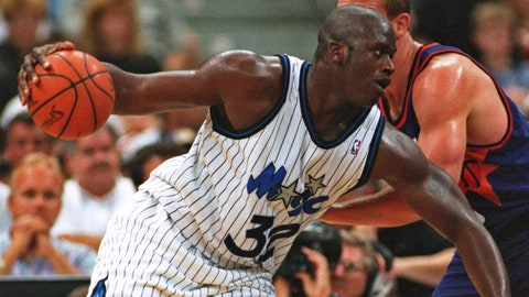 1992 No. 1 Pick: Shaquille O'Neal (Orlando Magic)