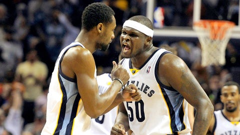 Memphis Grizzlies: Tony Allen and Zach Randolph