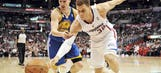 Warriors' Klay Thompson calls out Blake Griffin for flopping