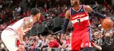 John Wall, Wizards steal Game 1 at Chicago