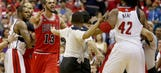 Bulls' Noah gets in confrontation with Wizards security