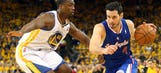 Kevin Durant to Golden State? Harrison Barnes gives classic response