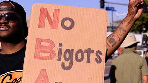 'No bigots allowed'