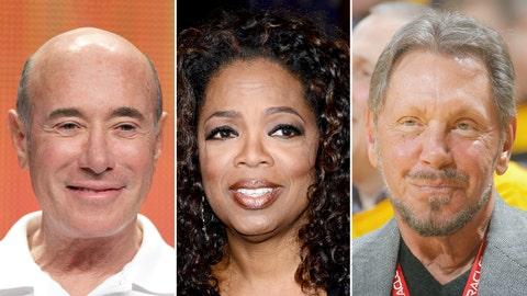 David Geffen/Oprah Winfrey/Larry Ellison