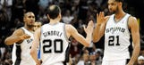 Top seed Spurs rout Mavs in Game 7 to finish off first round