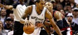 Trail Blazers no match for Spurs in Game 1 of conference semis