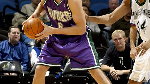 2005 No. 1 Pick: Andrew Bogut (Milwaukee Bucks)