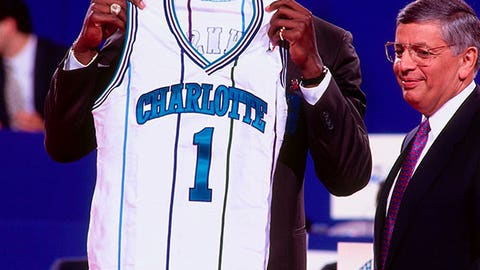 1991 No. 1 Pick: Larry Johnson (Charlotte Hornets)