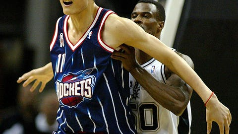 2002 No. 1 Pick: Yao Ming (Houston Rockets)