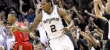 Spurs don't miss a beat, knock out Blazers after Parker exits with injury