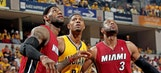 Pacers dominate Heat at home, go up 1-0 in series