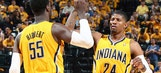 Pacers jump on Heat early, never trail in winning Game 1