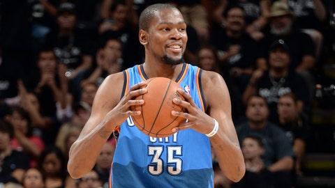 Oklahoma City Thunder: Kevin Durant