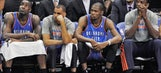 NBA takeaways: Thunder have a very big problem