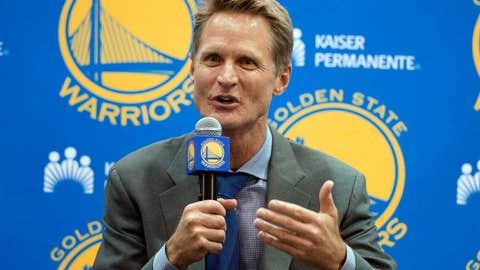2. Steve Kerr, Warriors