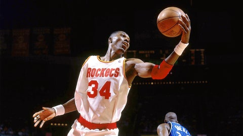 Hakeem Olajuwon: 12-time All-Star