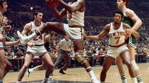 Willis Reed, eighth overall, New York Knicks, 1964