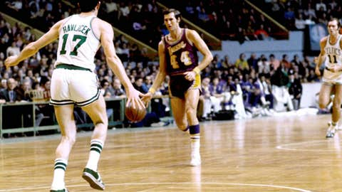 Jerry West, shooting guard