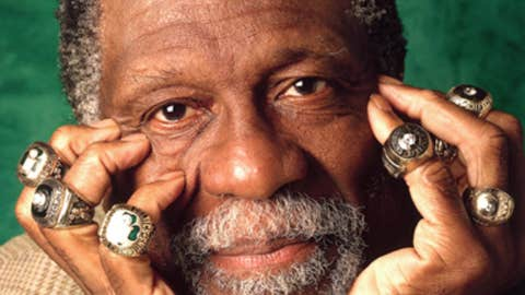 Bill Russell's 11 championships