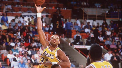 2. Kareem Abdul-Jabbar to the LA Lakers for Junior Bridgeman, Brian Winters, Elmore Smith and Dave Myers (1975)