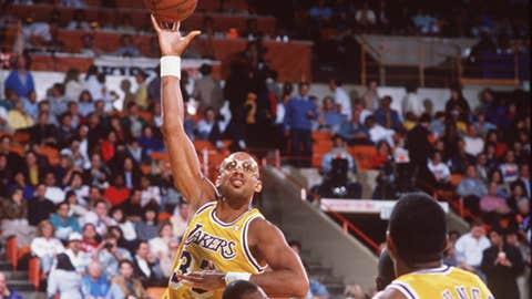 2. Kareem Abdul-Jabbar to the LA Lakers for Junior Bridgeman, Brian Winters, Elmore Smith and Dave Myers (1975)
