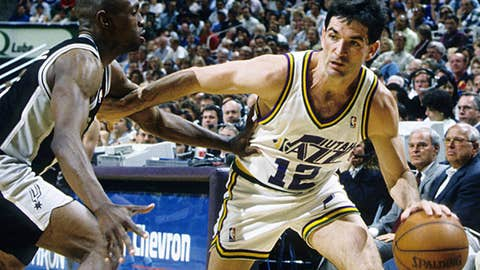 John Stockton's 15,806 assists