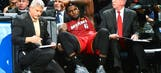 LeBron James' jersey from 'cramp game' against Spurs up for auction