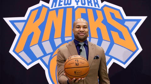 3. Derek Fisher, Knicks